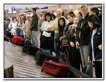Потерян багаж в аэропорту
