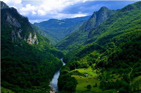Каньон реки Тары, Черногория