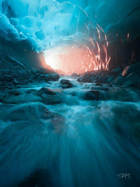 Ледник Менденхолл, Аляска, США